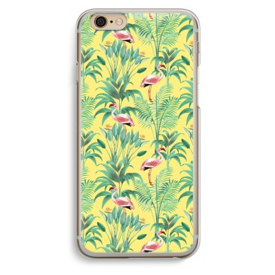 iphone-6-6s-transparante-cover - Flamingo party