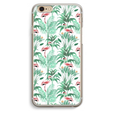 iphone-6-6s-transparante-cover - Flamingo bladeren