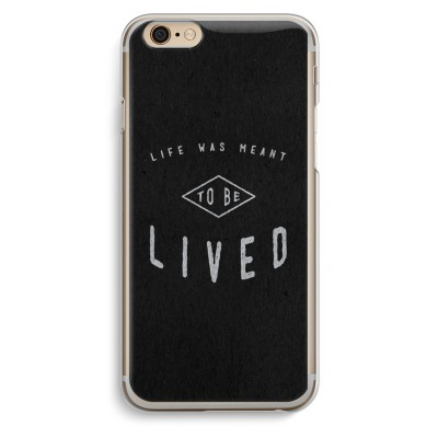 iphone-6-6s-transparante-cover - To be lived