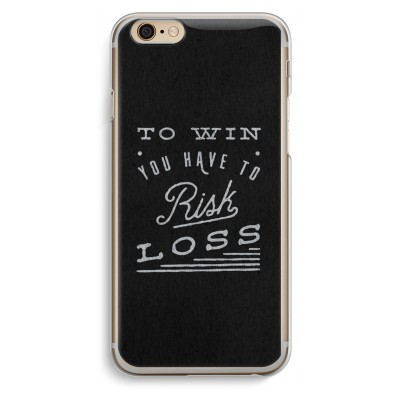 iphone-6-6s-transparante-cover - Risk loss