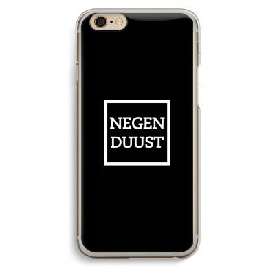 iphone-6-6s-transparante-cover - Negenduust black