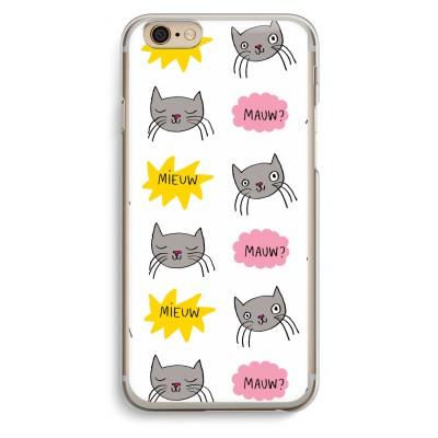 iphone-6-6s-transparent-case - Meow