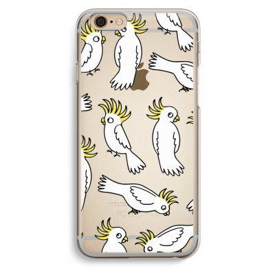 iphone-6-6s-transparante-cover - Papegaai