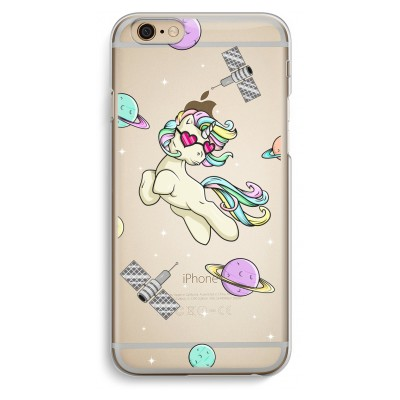 iphone-6-6s-transparante-cover - Haters Unicorn
