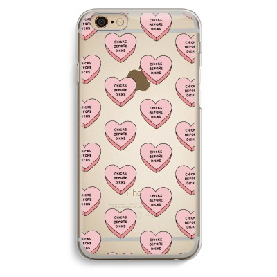 iphone-6-6s-transparent-case - Chicks before dicks