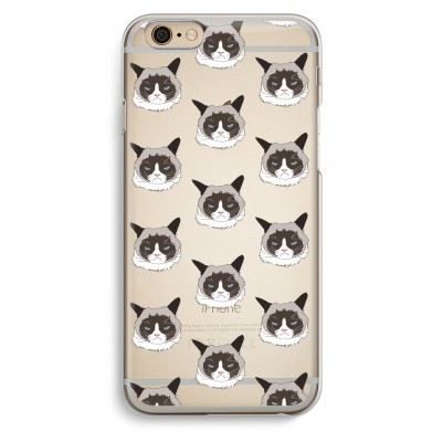 iphone-6-6s-transparent-case - It's a Purrr Case