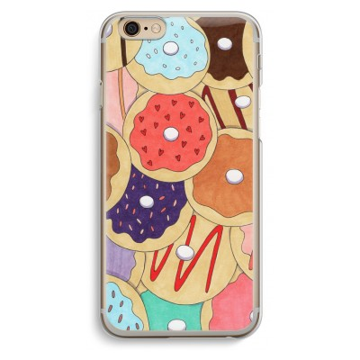iphone-6-6s-transparent-case - Donuts