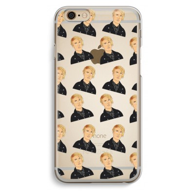 iphone-6-6s-transparent-case - Love Yourself Pattern