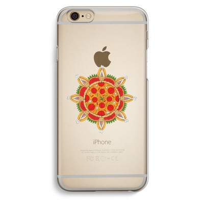 iphone-6-6s-transparent-case - Pizza Mandala