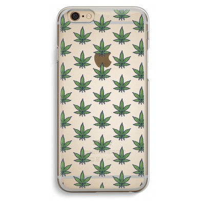 iphone-6-6s-transparante-cover - Weed