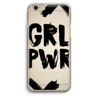 iphone-6-6s-transparante-cover - Girl Power #2