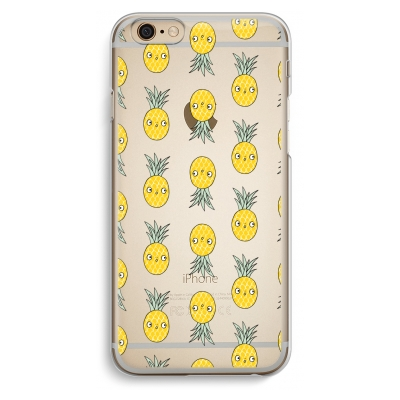 iphone-6-6s-transparante-cover - Ananas