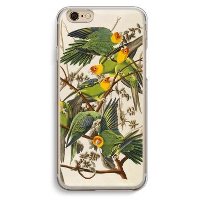 iphone-6-6s-transparent-case - Carolina Parrot