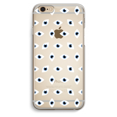 iphone-6-6s-transparante-cover - Eyes pattern