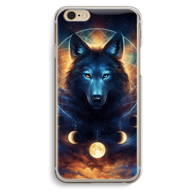 coque-iphone-6-6s-transparante - Wolf Dreamcatcher