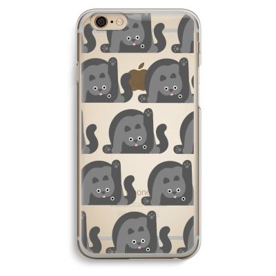 iphone-6-6s-transparent-case - Cats