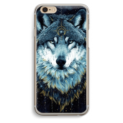 iphone-6-6s-transparante-cover - Darkness Wolf
