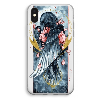 iphone-xs-funda-transparente - Golden Raven
