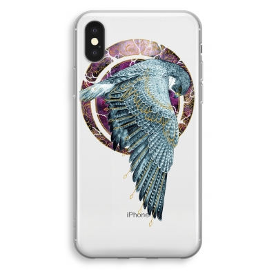 iphone-xs-funda-transparente - Golden Falcon