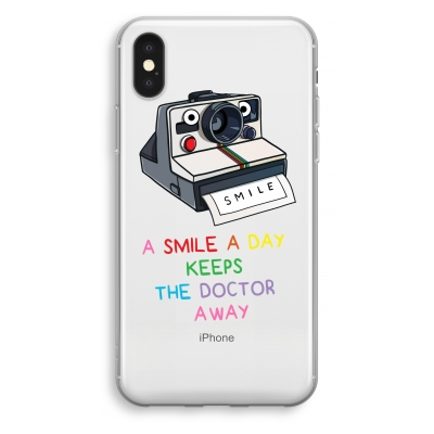 iphone-xs-transparant-hoesje - Smile