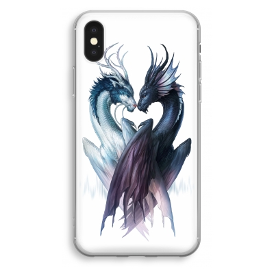 iphone-xs-transparant-case - Yin Yang Dragons