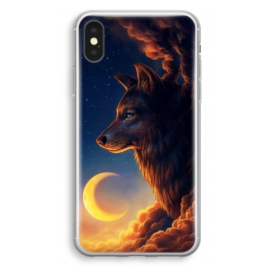 iphone-xs-transparant-hoesje - Night Guardian