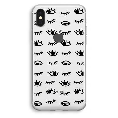 iphone-xs-cover-trasparente - Eye pattern #2