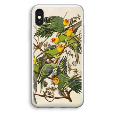 iphone-xs-transparant-case - Carolina Parrot