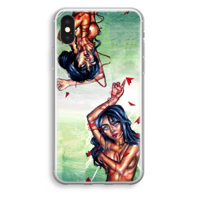iphone-xs-transparant-case - Femme