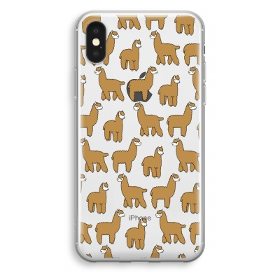 coque-transparente-iphone-xs - Alpacas