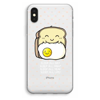 iphone-xs-transparant-case - Sleep All Day