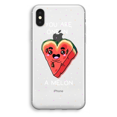 iphone-xs-transparant-hoesje - One In A Melon