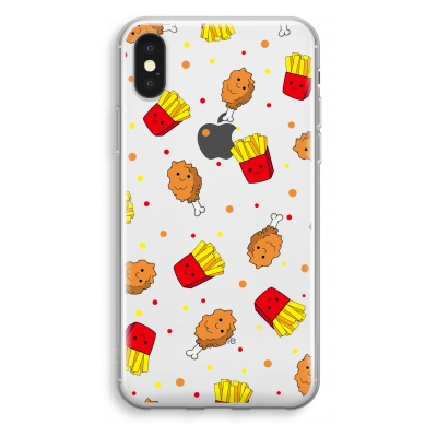 iphone-xs-transparant-hoesje - Chicken 'n Fries