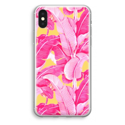 iphone-xs-funda-transparente - Pink Banana