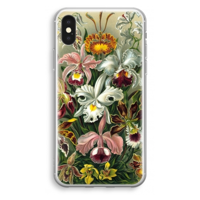 coque-transparente-iphone-xs - Haeckel Orchidae