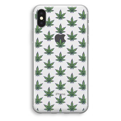 iphone-xs-transparant-hoesje - Weed
