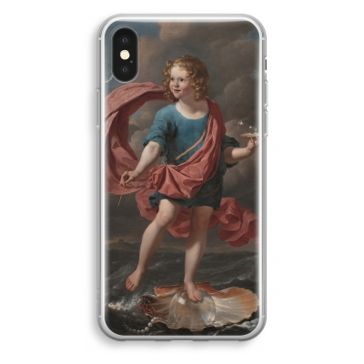 iphone-xs-transparant-case - Soap Bubbles