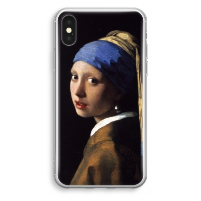 iphone-xs-transparant-hoesje - The Pearl Earring