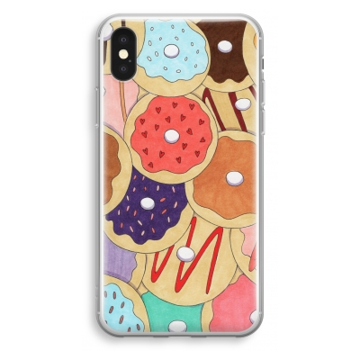 iphone-xs-transparant-case - Donuts