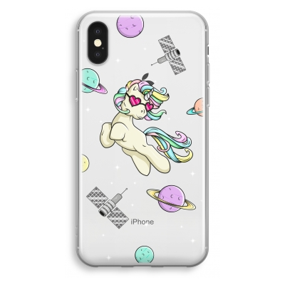 iphone-xs-transparant-hoesje - Haters Unicorn