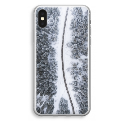 iphone-xs-funda-transparente - Camino nevado