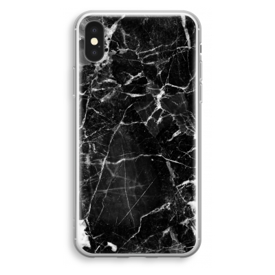 iphone-xs-transparant-case - Black Marble 2