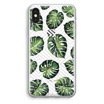 iphone-xs-transparant-hoesje - Geometrische jungle
