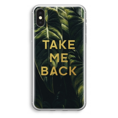 iphone-xs-transparant-hoesje - Take me back