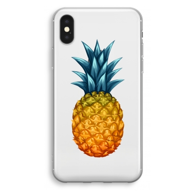 coque-transparente-iphone-xs - Gros ananas