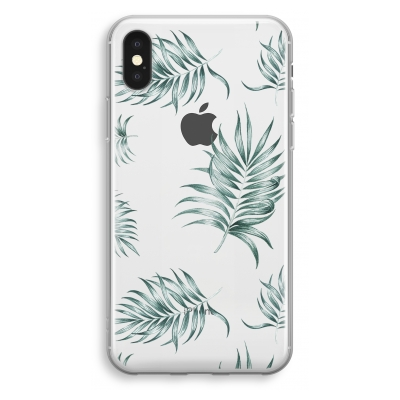 coque-transparente-iphone-xs - Simple leaves
