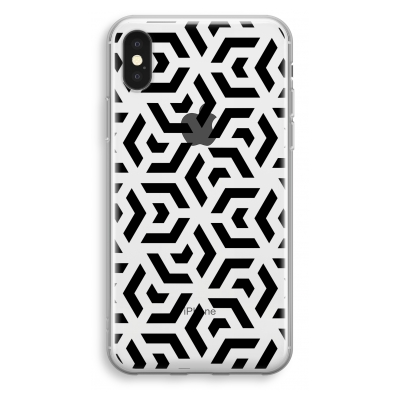 coque-transparente-iphone-xs - Crazy pattern