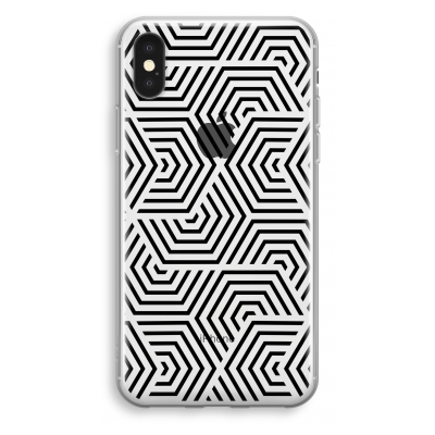 iphone-xs-cover-trasparente - Motivo Illusionistico