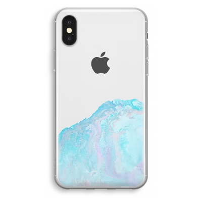 iphone-xs-transparant-hoesje - Fantasie pastel