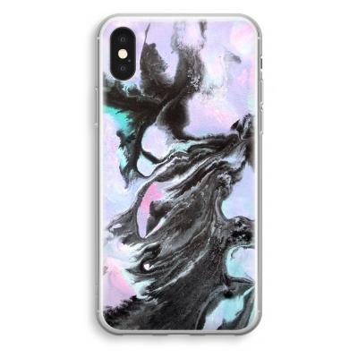 iphone-xs-transparant-case - Pastel black